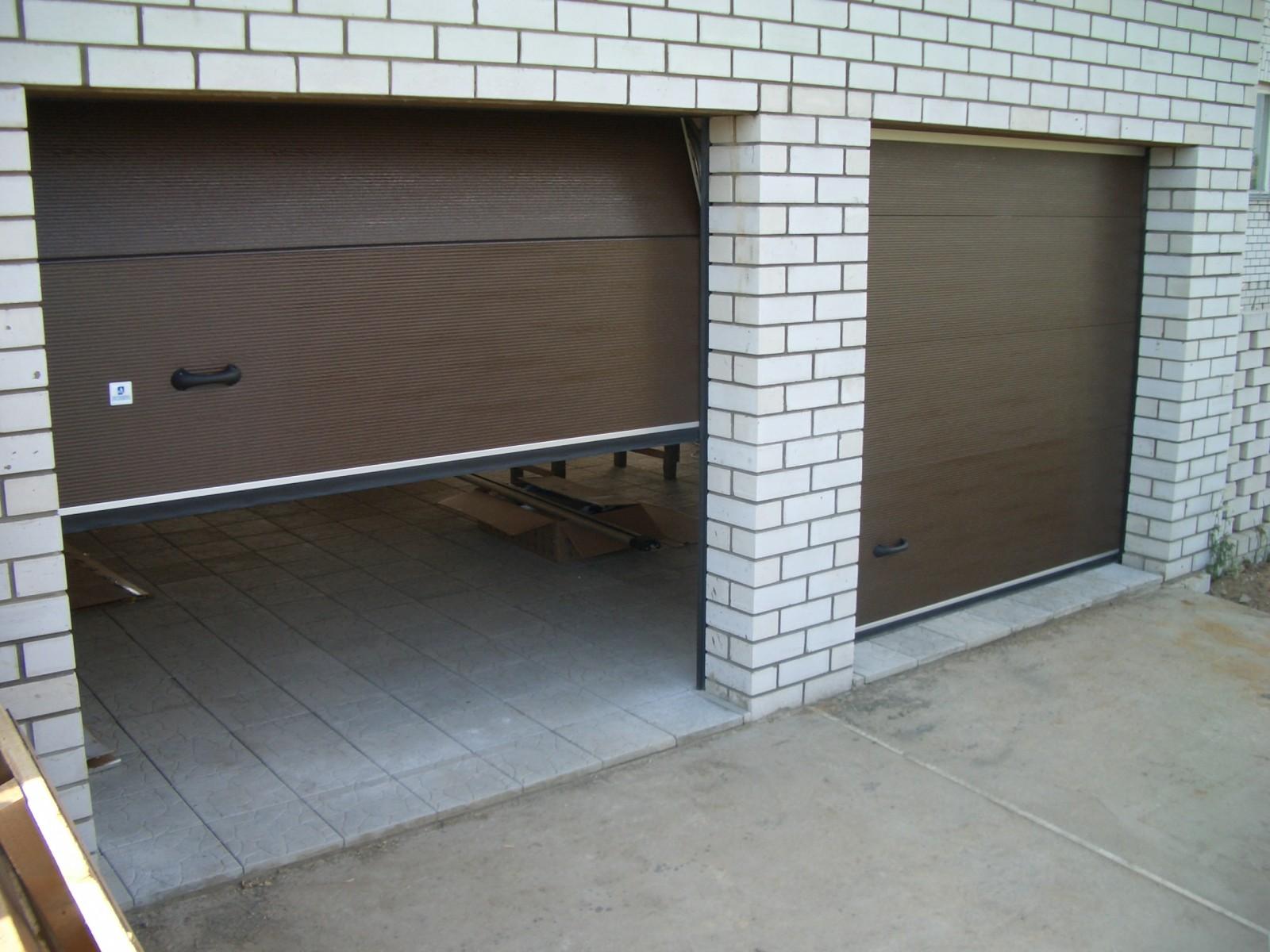 Выбор материала для изготовления гаражных ворот